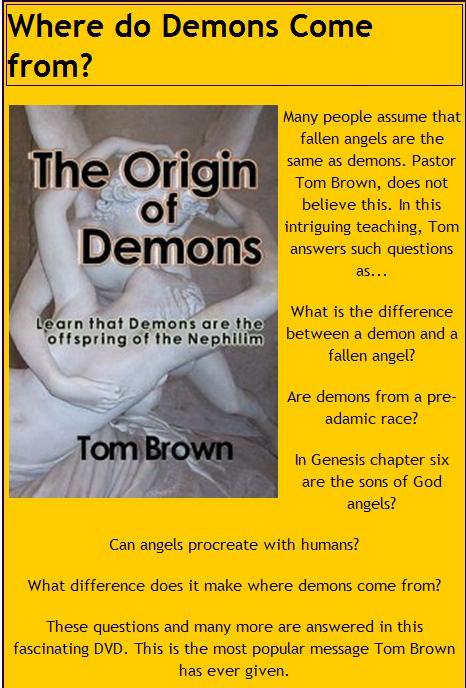 TomBrownOriginDemons